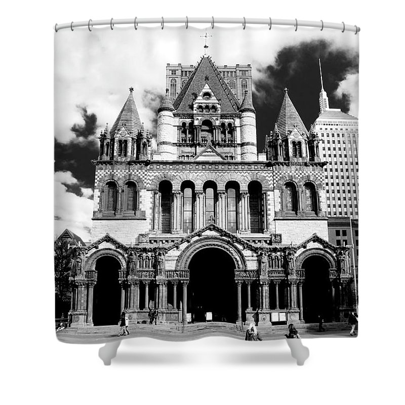 Art Shower Curtain featuring the photograph Trinity by Greg Fortier