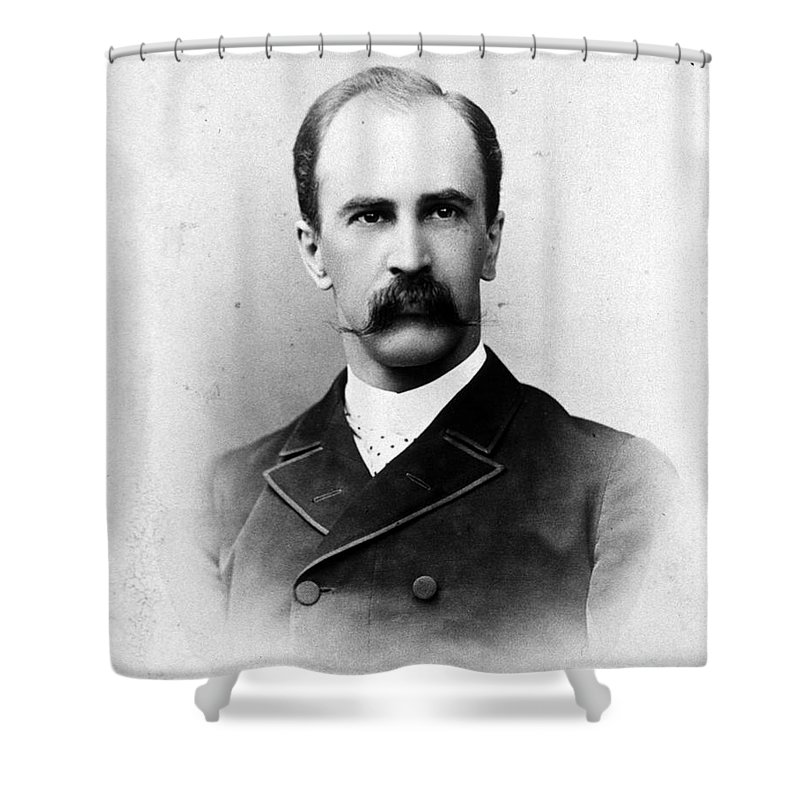 Science Shower Curtain featuring the photograph William Osler, Canadian Physician by Science Source