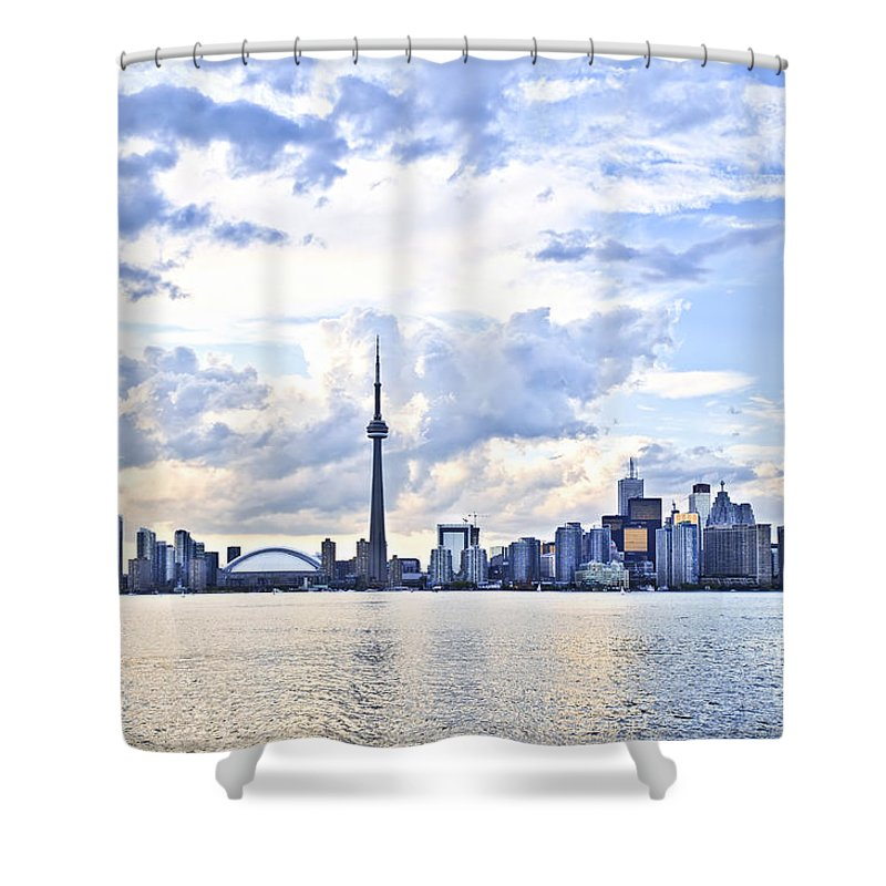 Toronto Skyline Shower Curtain for Sale by Elena Elisseeva