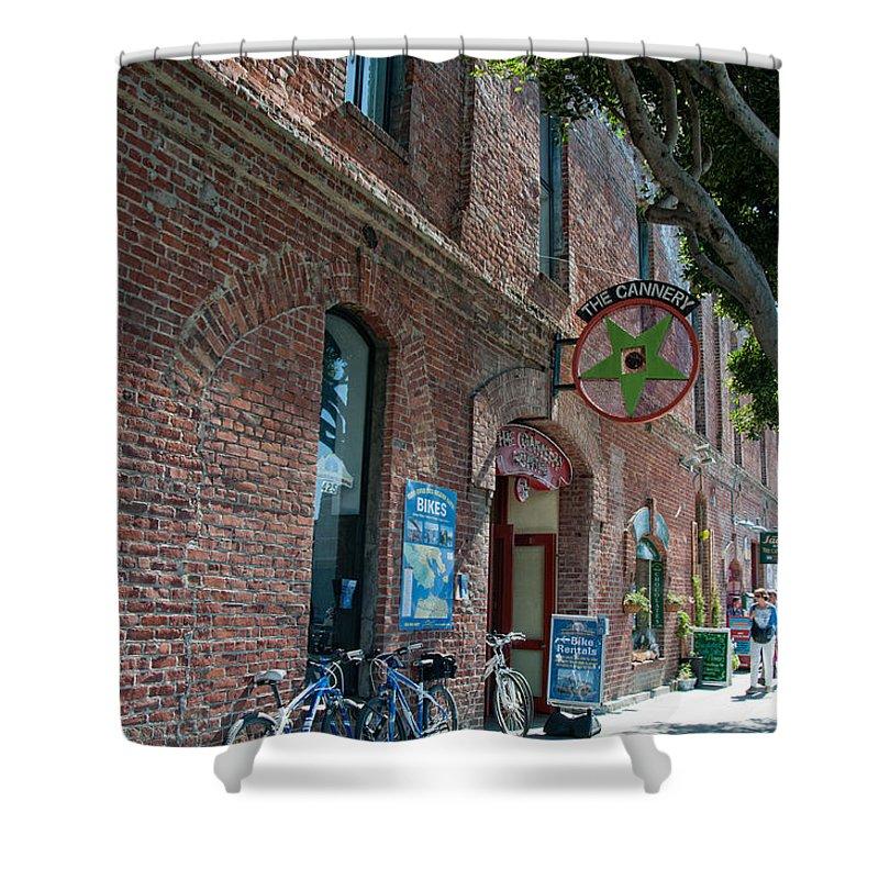 California Shower Curtain featuring the digital art Legion Of Honor Museum San Francisco by Carol Ailles