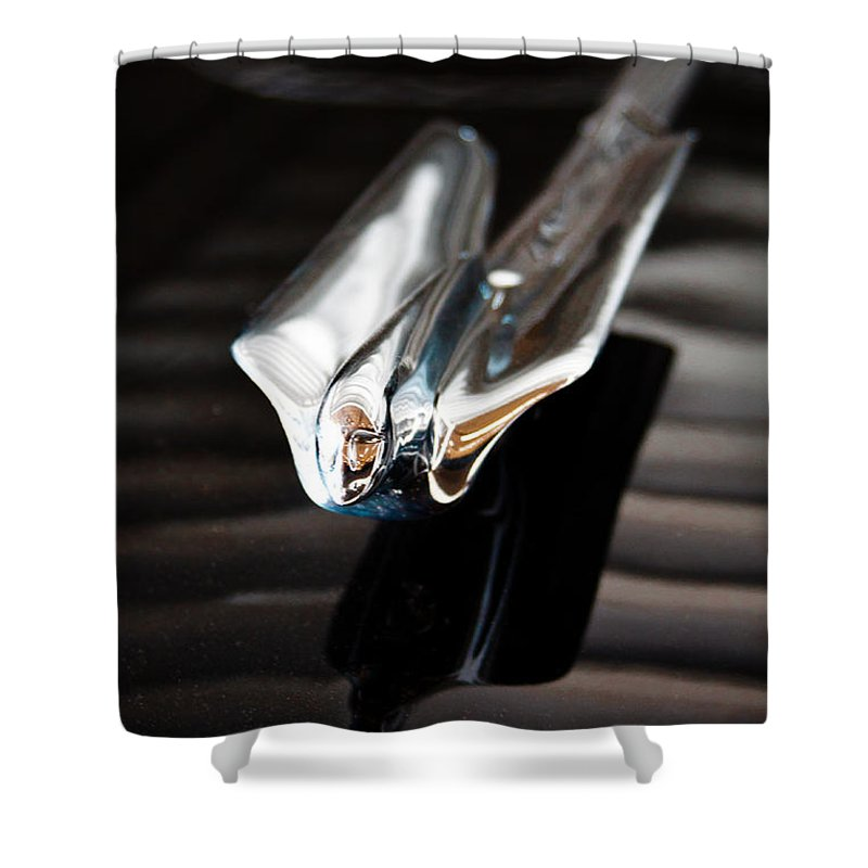 49 Shower Curtain featuring the photograph 1949 Cadillac Fleetwood 60 Special by David Patterson