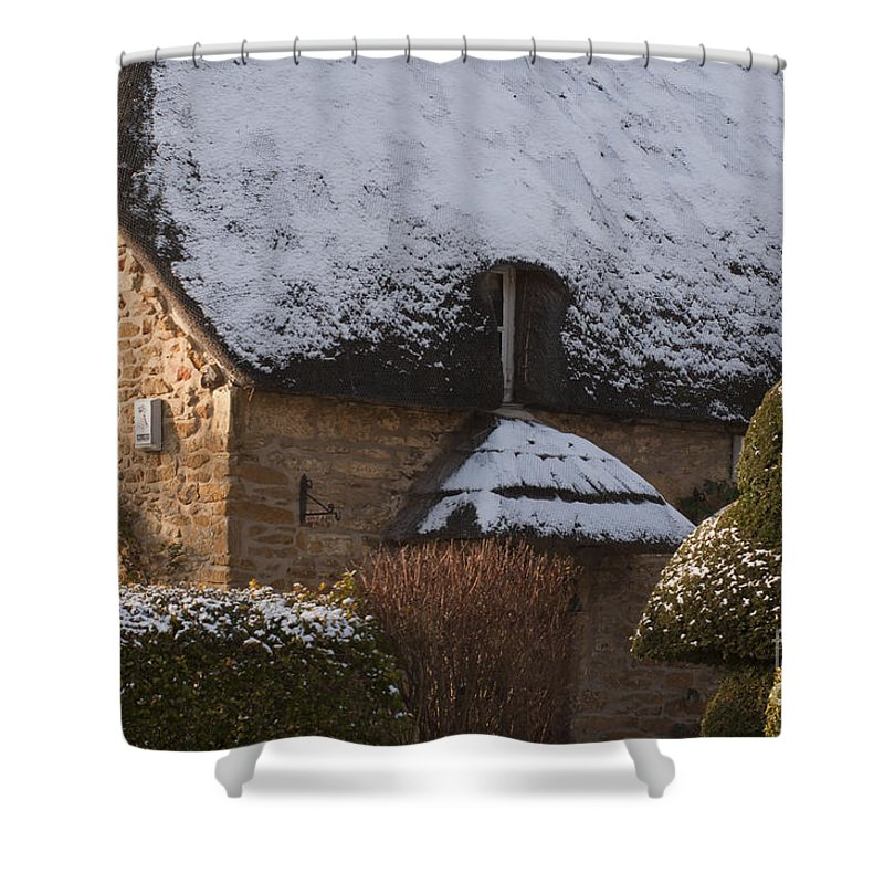 Britain Shower Curtain featuring the photograph Cottage by Andrew Michael