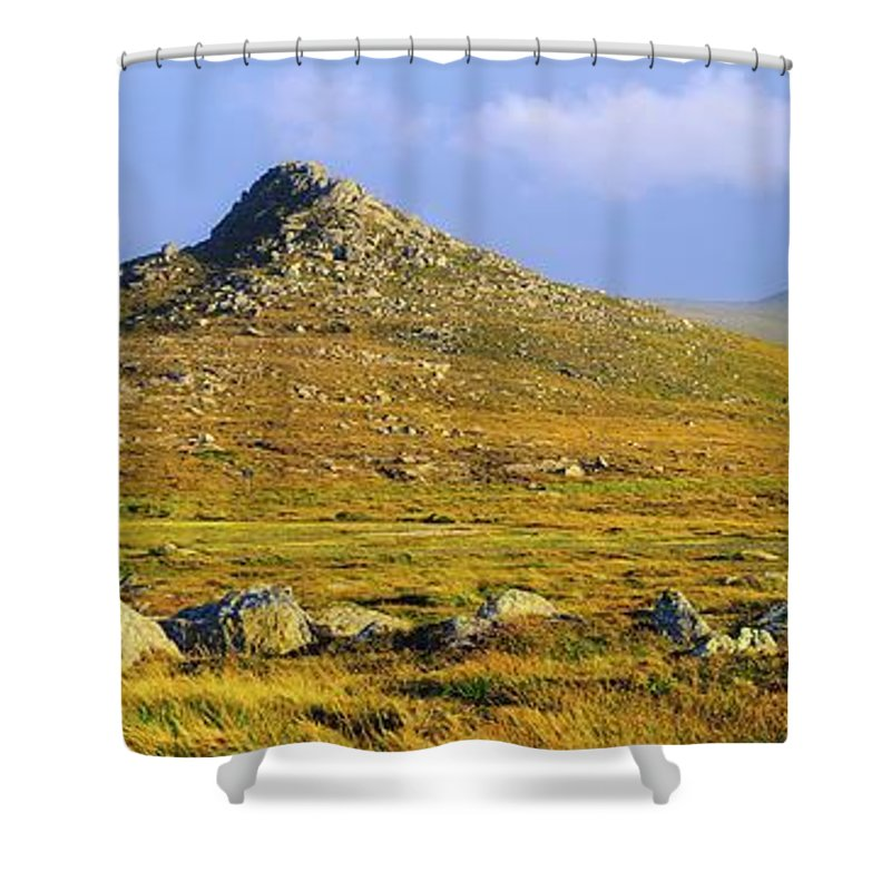 Clogher Head Shower Curtain featuring the photograph Dingle Peninsula, Co Kerry, Ireland by The Irish Image Collection