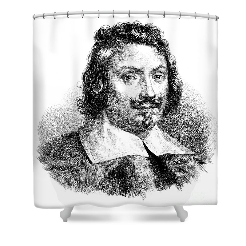Evangelista Torricelli Italian Shower Curtain For Sale By Science Source