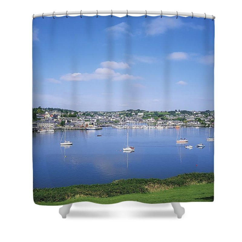 Boat Shower Curtain featuring the photograph Kinsale, Co Cork, Ireland by The Irish Image Collection
