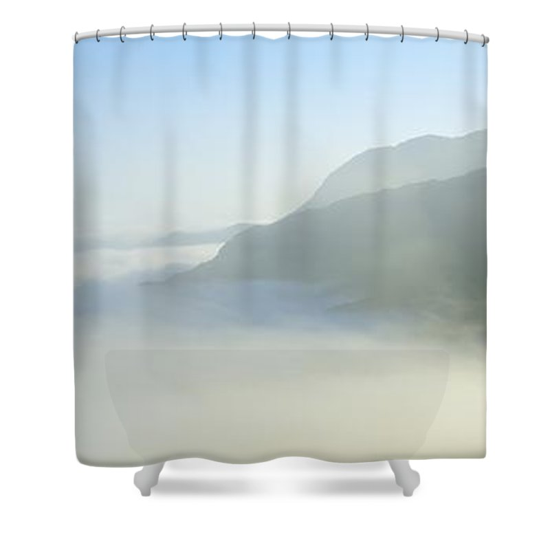 Outdoors Shower Curtain featuring the photograph Ladies View, Killarney, Co Kerry by The Irish Image Collection