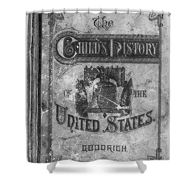 1878 Shower Curtain featuring the photograph Liberty Bell by Granger