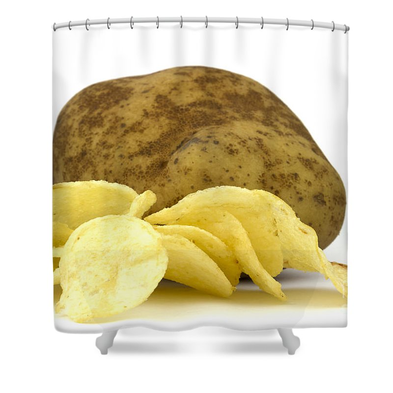Potato Shower Curtains