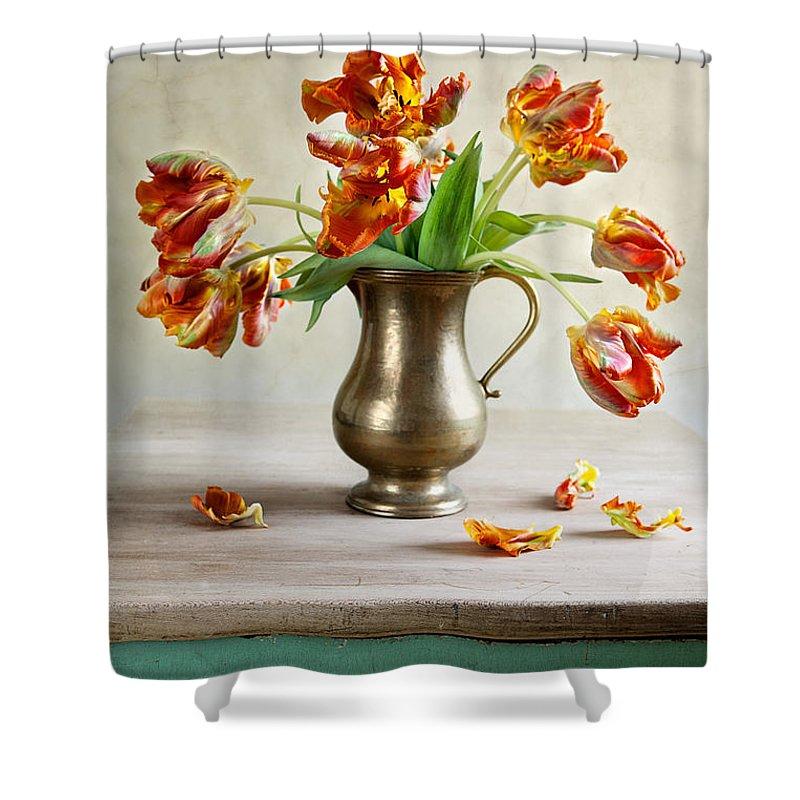 Ornamental Shower Curtains
