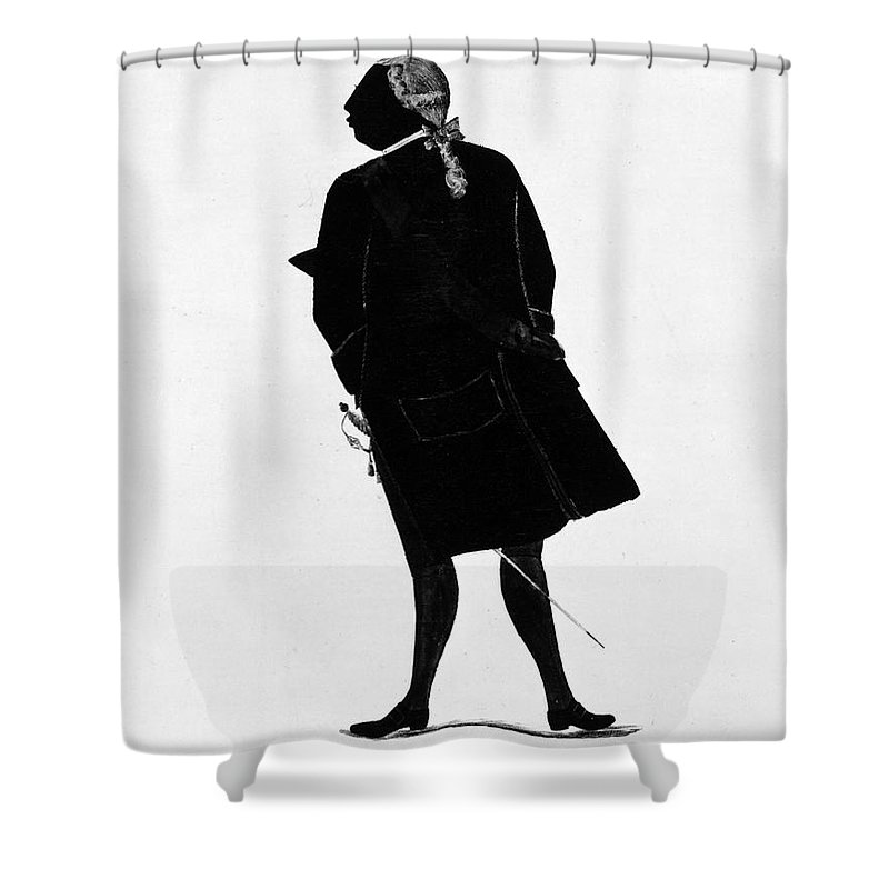 1781 Shower Curtain featuring the photograph Louis Xvi (1754-1793) by Granger
