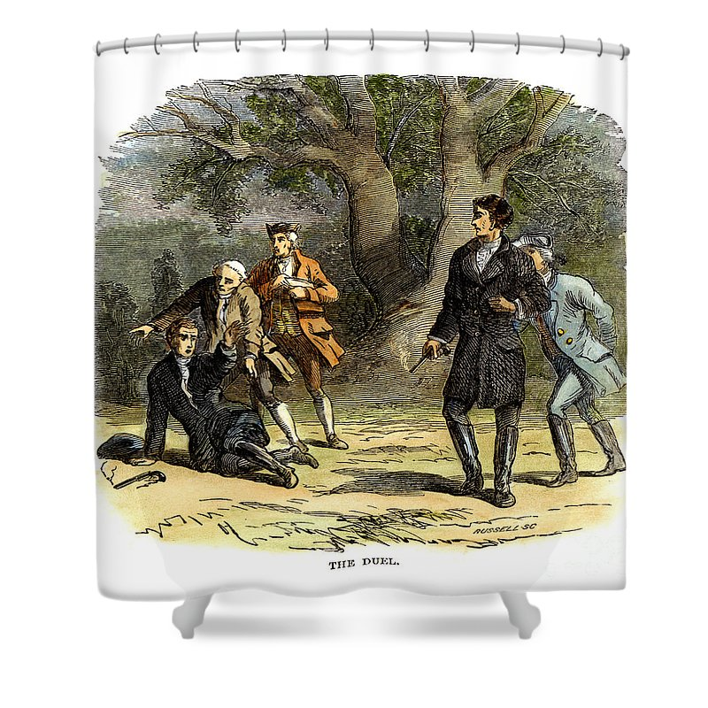1806 Shower Curtain featuring the photograph Andrew Jackson (1767-1845) by Granger
