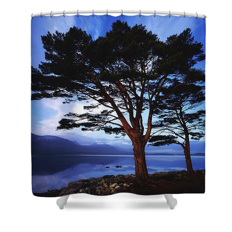 Co Kerry Shower Curtain featuring the photograph Lough Leane, Lakes Of Killarney by The Irish Image Collection