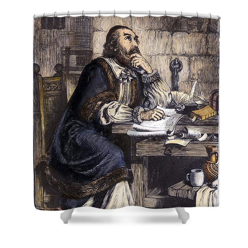 16th Century Shower Curtain featuring the photograph Nicholas Ridley (1500-1555) by Granger
