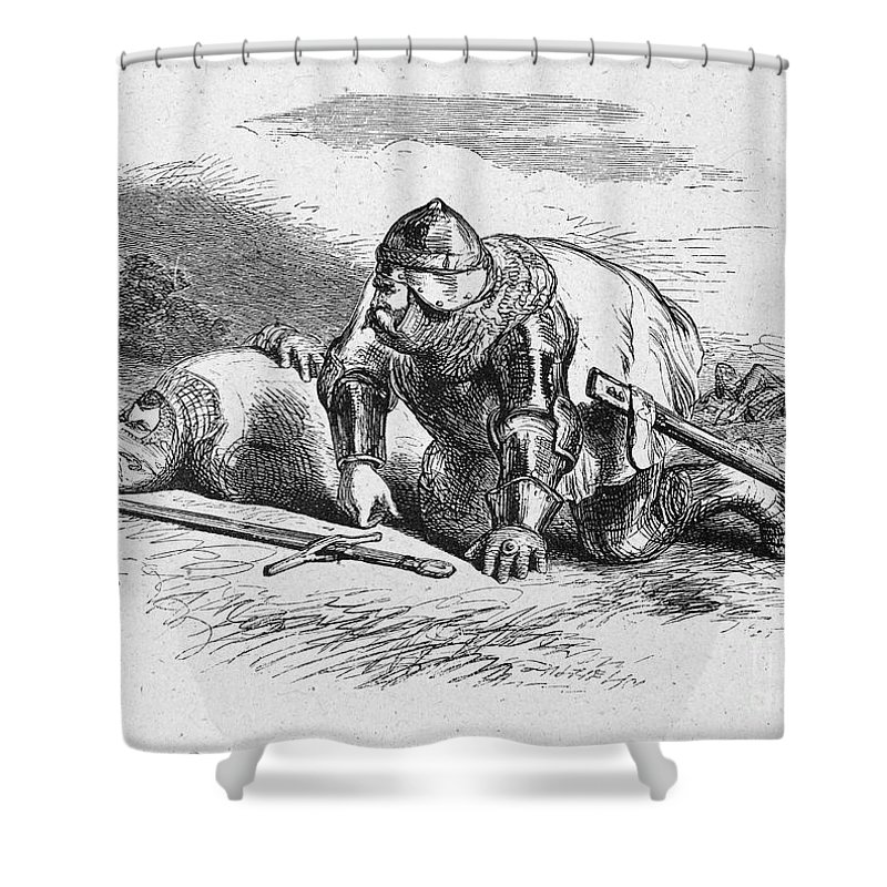 16th Century Shower Curtain featuring the photograph Shakespeare: Henry Iv by Granger