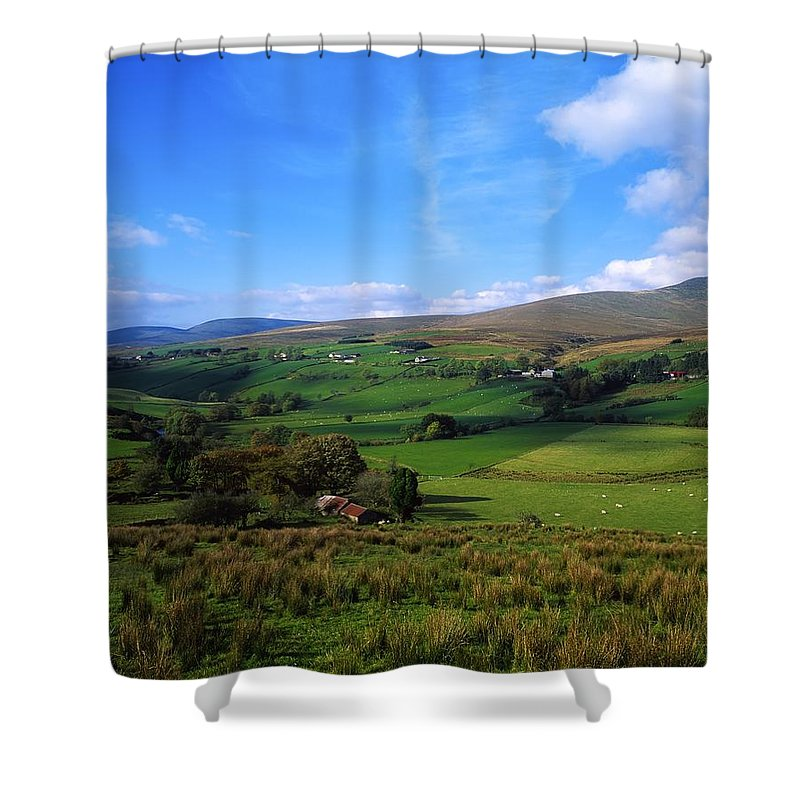 Co. Tyrone Shower Curtain featuring the photograph Sperrin Mountains, Co Tyrone, Ireland by The Irish Image Collection
