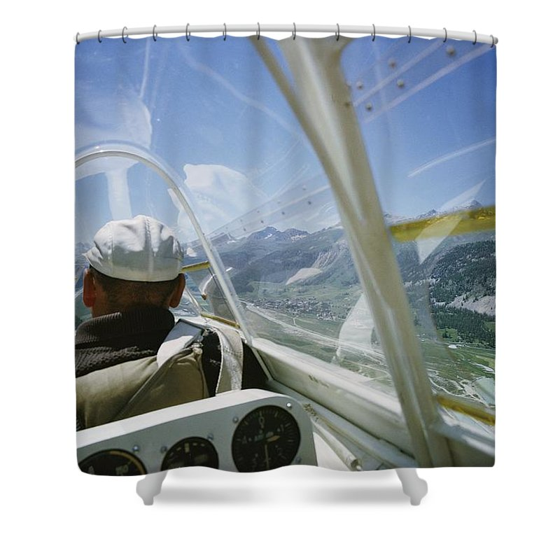 Aircraft Shower Curtain featuring the photograph Untitled by Walter Meayers Edwards