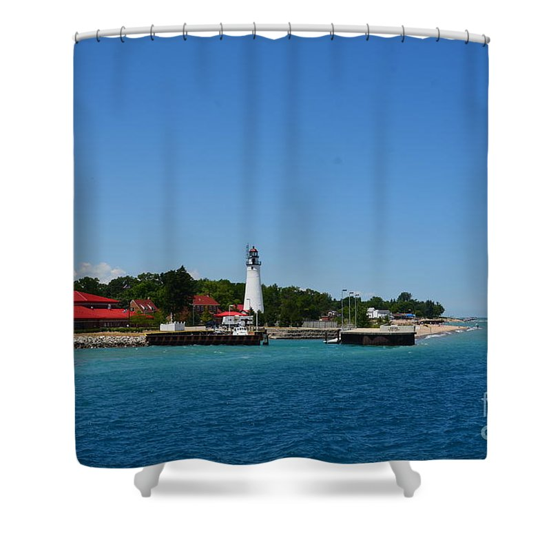 Light House Shower Curtain featuring the photograph Lighthouse by Randy J Heath