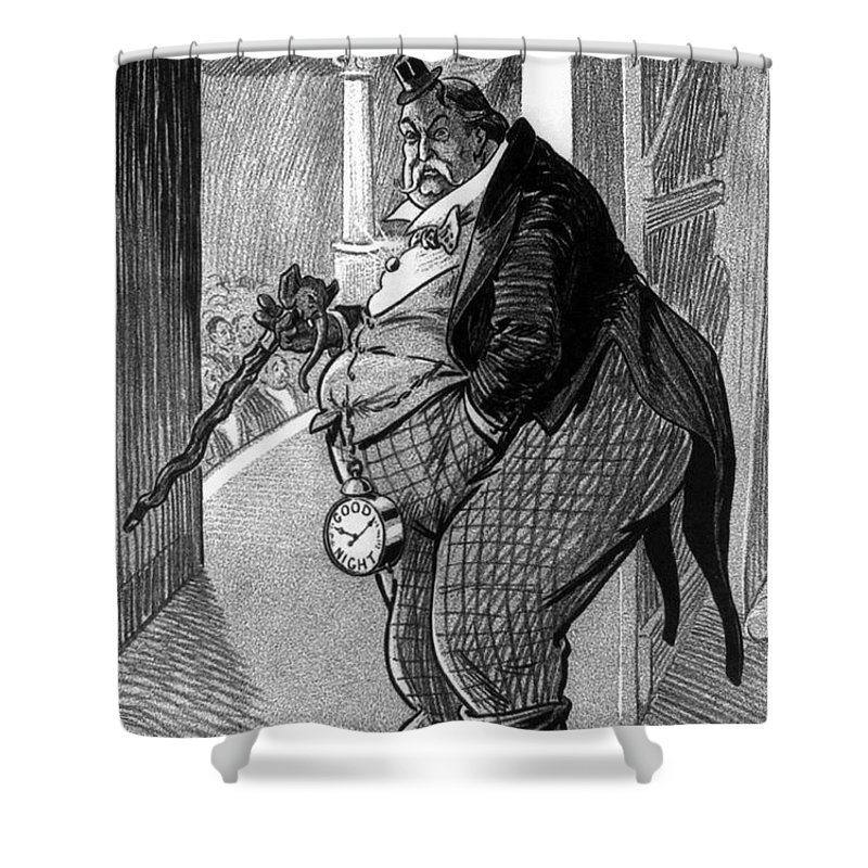 1912 Shower Curtain featuring the photograph William Howard Taft by Granger