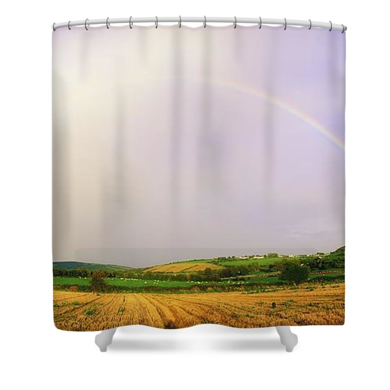 Beauty In Nature Shower Curtain featuring the photograph Rock Of Cashel, Co Tipperary, Ireland by The Irish Image Collection