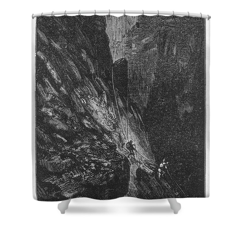 19th Century Shower Curtain featuring the photograph Verne: Journey by Granger