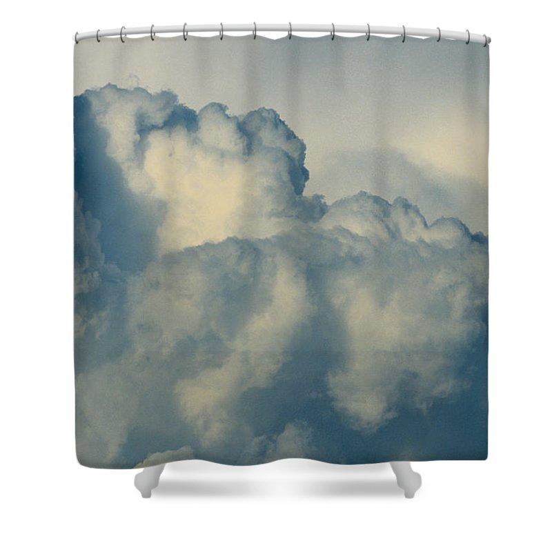 Cumulonimbus Shower Curtain featuring the photograph Cumulonimbus Clouds by One Rude Dawg Orcutt
