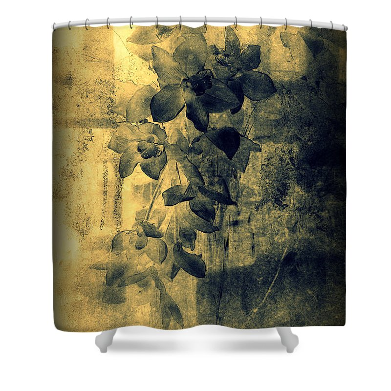 Orchid Shower Curtain featuring the photograph A Medley Of Orchids by Susanne Van Hulst