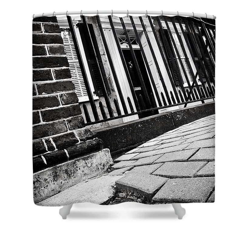 Street Shower Curtain featuring the photograph A New Perspective by Jessica Brawley