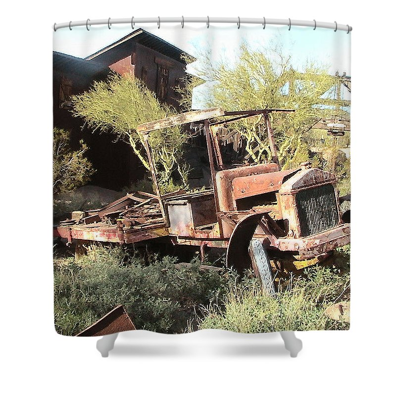 Cristopher Ernest Shower Curtain featuring the photograph A Place To Rest by Cristophers Dream Artistry