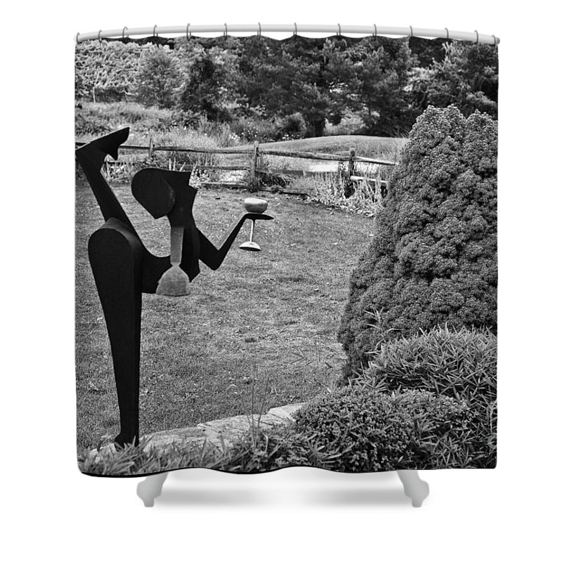 Shrub Shower Curtain featuring the photograph A Toast To The Shrub by Madeline Ellis