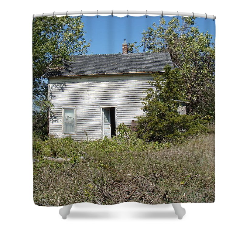 Abandoned Shower Curtain featuring the photograph Abandoned by Bonfire Photography