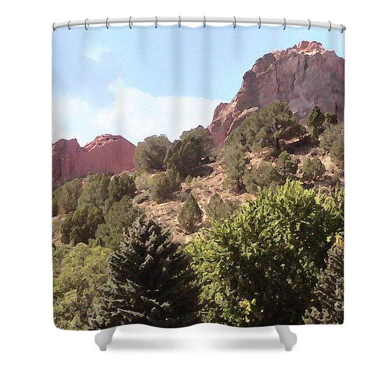 Cristopher Ernest Shower Curtain featuring the photograph Afternoon Delight by Cristophers Dream Artistry