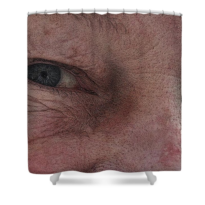 Shower Curtain featuring the photograph Aging Process by Barbara S Nickerson