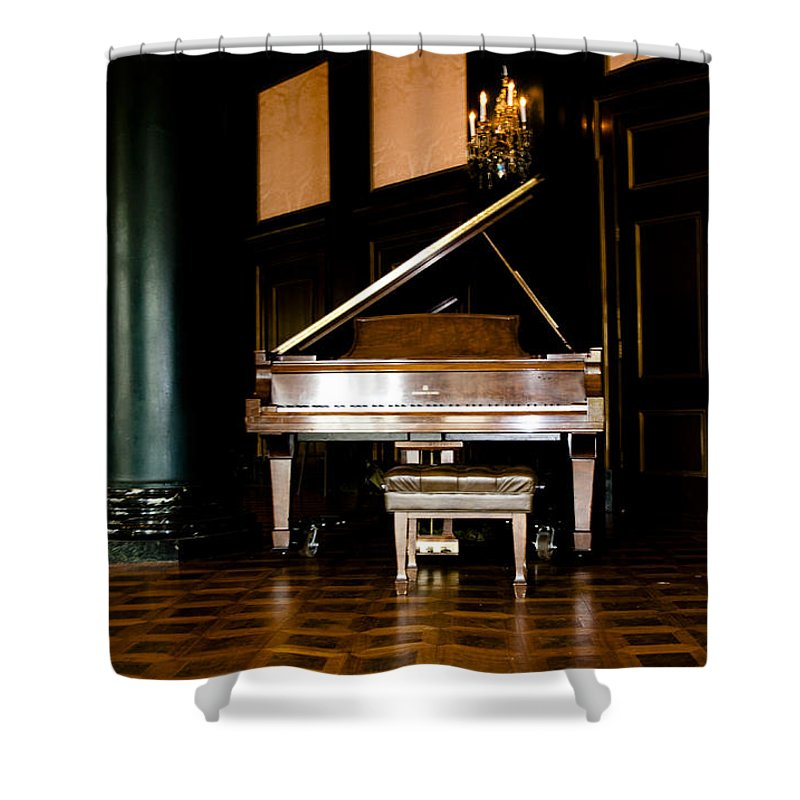 Aint It Grand Shower Curtain featuring the photograph Aint It Grand by Bill Cannon