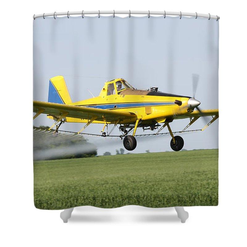 Plane Shower Curtain featuring the photograph Air Plane by Lori Tordsen