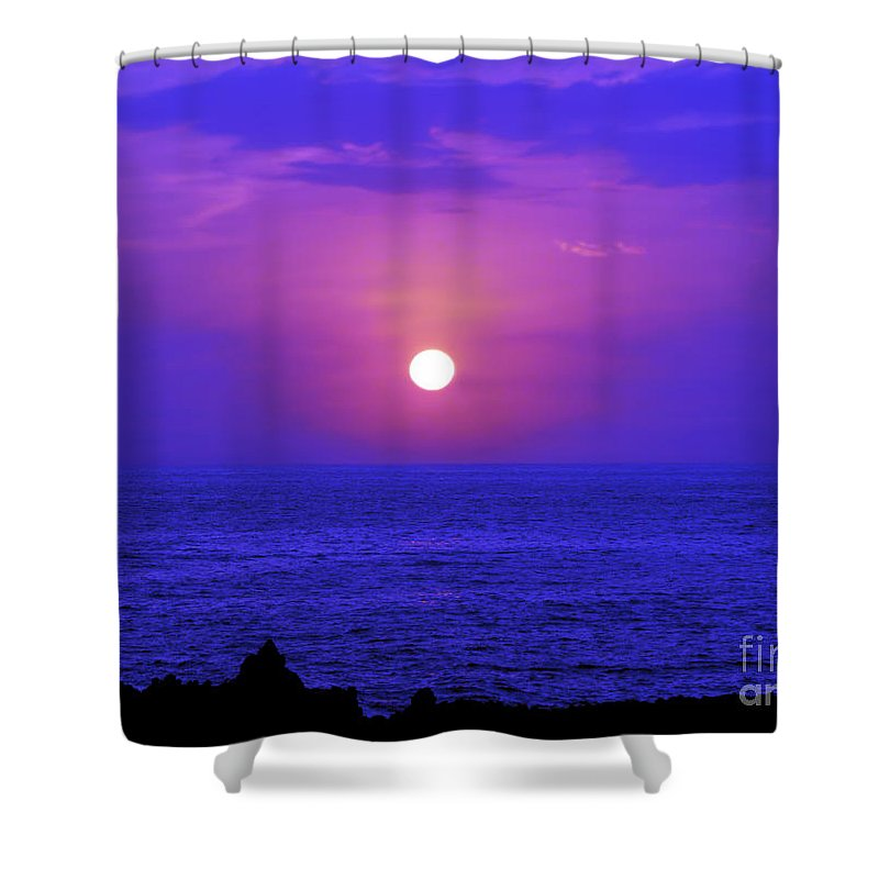 Fine Art Photography Shower Curtain featuring the photograph Aloha Iv by Patricia Griffin Brett