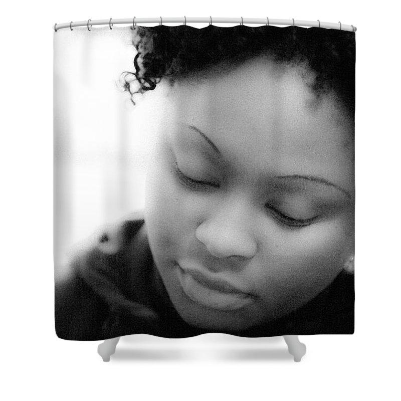 Amina Shower Curtain featuring the photograph Amina At Moliere by Hakon Soreide