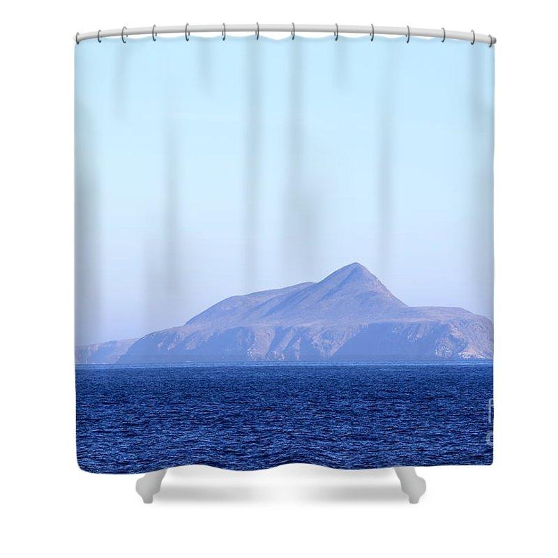 Island Shower Curtain featuring the photograph Anacapa Island by Henrik Lehnerer