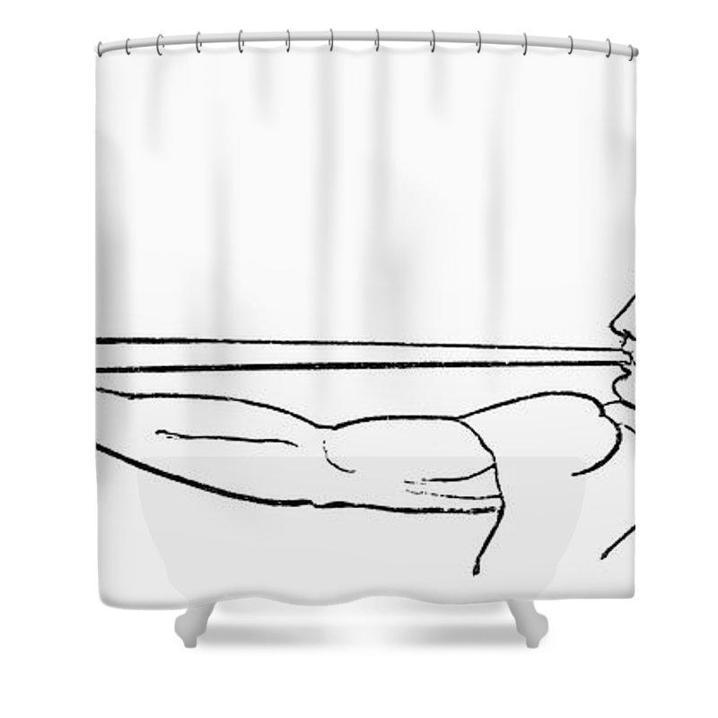 Ancient Roman Salpinx Shower Curtain