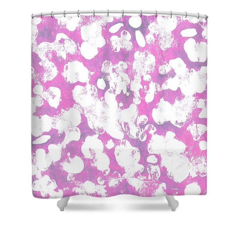 Animal (digital) By Louisa Knight (contemporary Artist) Shower Curtain featuring the digital art Animal by Louisa Knight