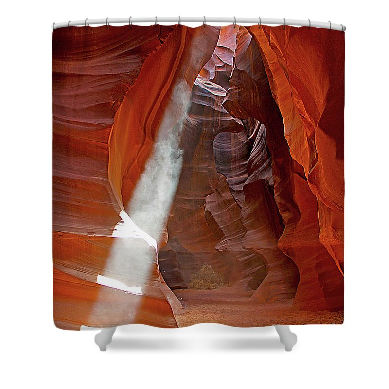 Antelope Canyon Shower Curtain featuring the photograph Antelope Canyon by Jack Schultz