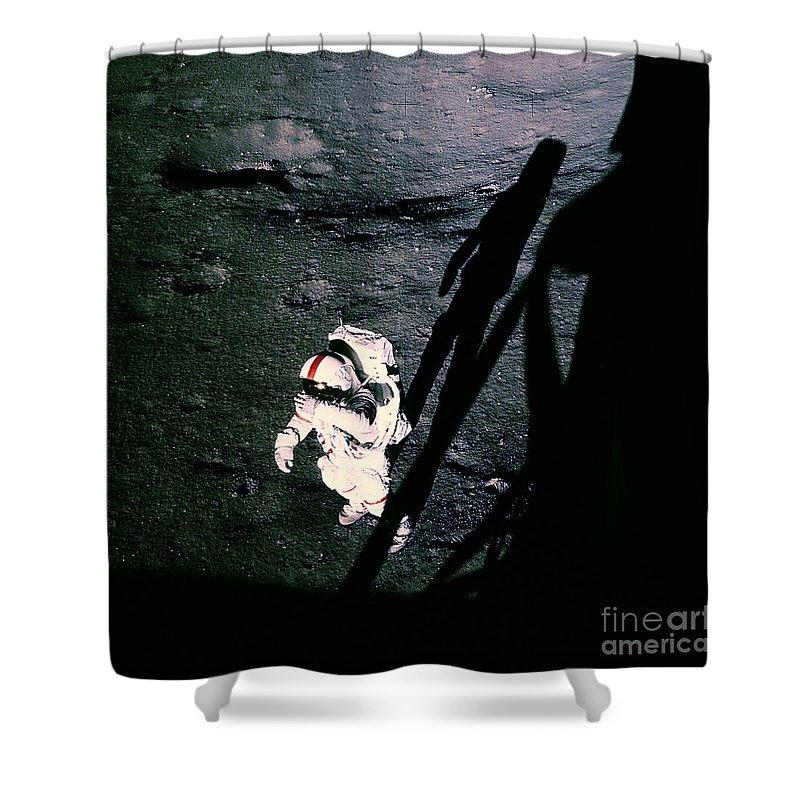 Apollo 14 Shower Curtain featuring the photograph Apollo 14 Astronaut Al Shepard by Nasa