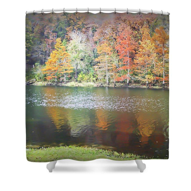Arkansas Shower Curtain featuring the photograph Arkansas Beauty by Kim Henderson
