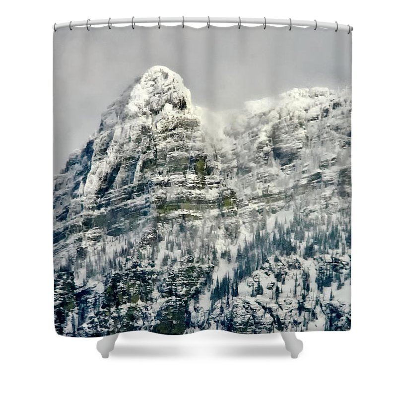 Afternoon Shower Curtain featuring the photograph Bad Medicine by Albert Seger