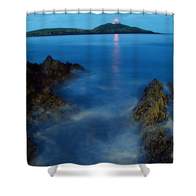 Ballycotton Shower Curtain featuring the photograph Ballycotton, County Cork, Ireland by Richard Cummins
