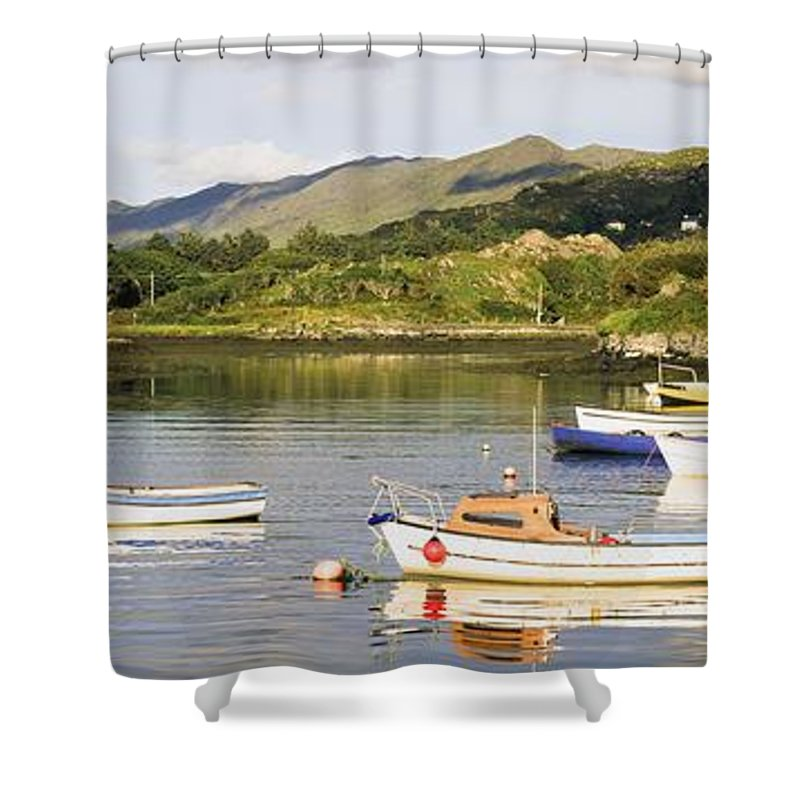 Outdoors Shower Curtain featuring the photograph Ballycrovane, County Cork, Ireland by The Irish Image Collection