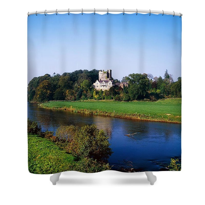 Ballyhooley Shower Curtain featuring the photograph Ballyhooley, Co Cork, Ireland by The Irish Image Collection