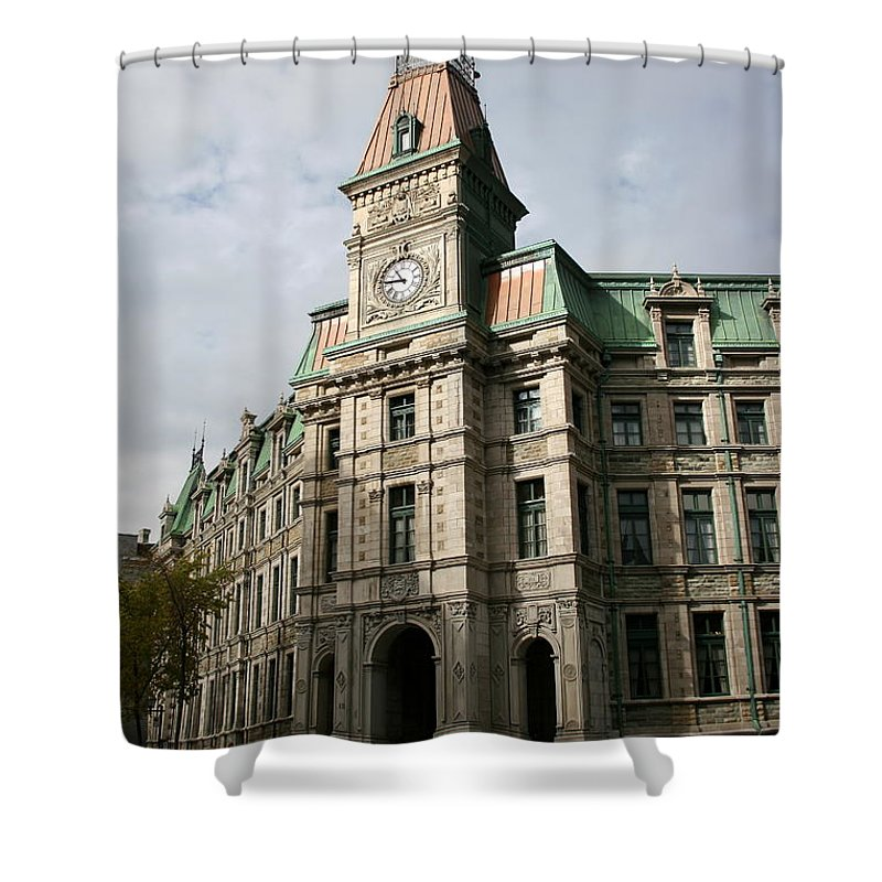 Building Shower Curtain featuring the photograph Beautiful Front by Christiane Schulze Art And Photography
