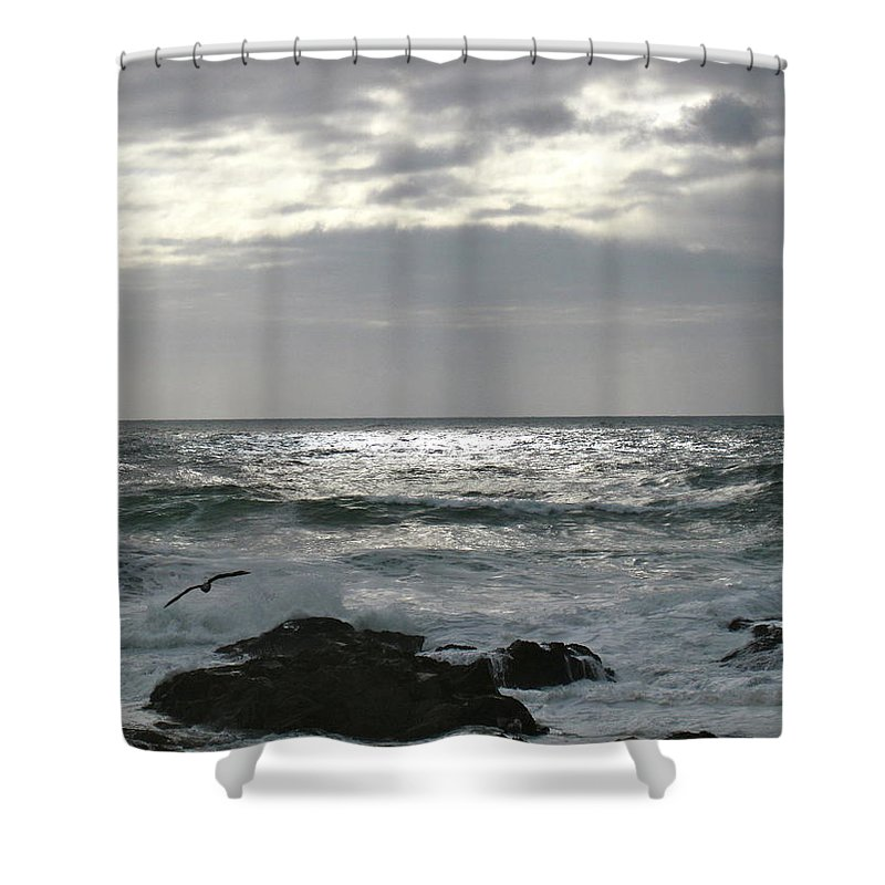 Ocean Shower Curtain featuring the photograph Beautiful by Linda Hutchins