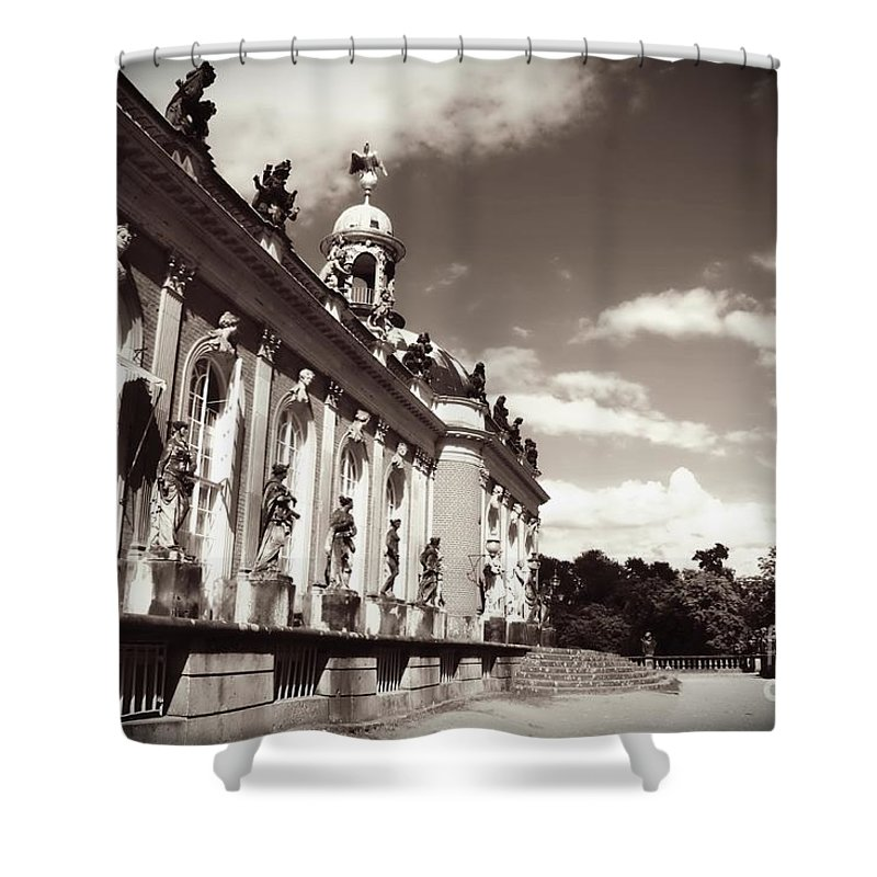 Berlin Shower Curtain featuring the photograph Berlin - Sanssouci Palace by Carol Groenen