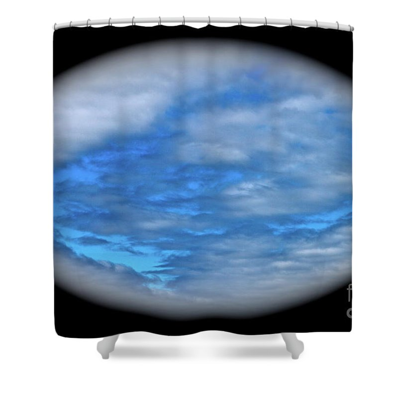 Clouds Shower Curtain featuring the photograph Beyond The Clouds by Rick Monyahan